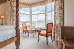 All our rooms are named, and this is The Langdale, so called because the its triple floor to ceiling bay windows overlook both local and the more distant Langdale fells.